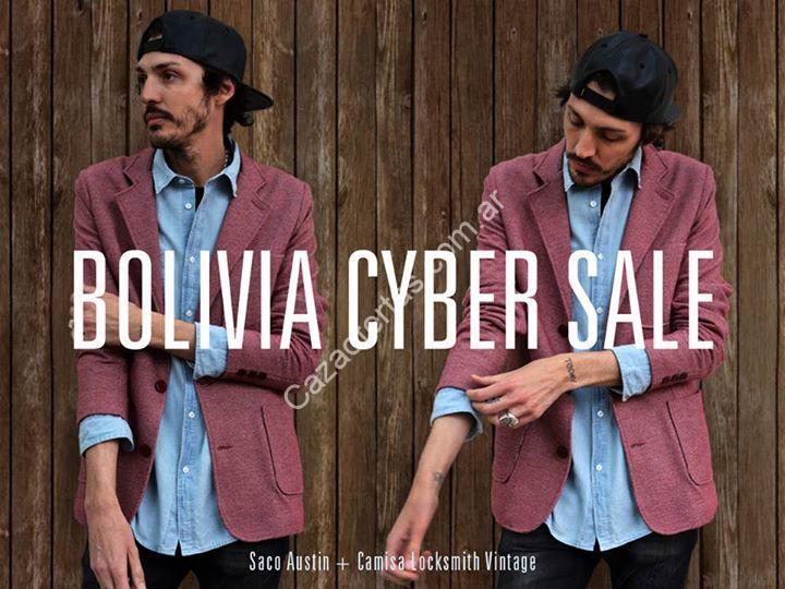 3242175e2c0e8 Imagen de la promo  Promo Cybermonday 2015 en Bolivia - Ropa para hombres   Hasta