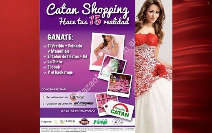 Concurso Hacé tus 15 Realidad con Catán Shopping: Completá tu cupón ...