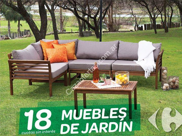 Muebles de jardin en carrefour simple with muebles de for Rebajas muebles jardin
