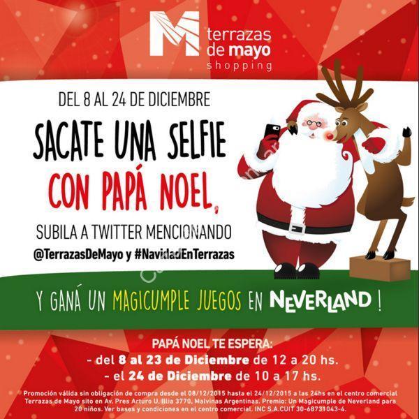 Sorteo De Navidad En Terrazas De Mayo Sacate Una Selfie Con