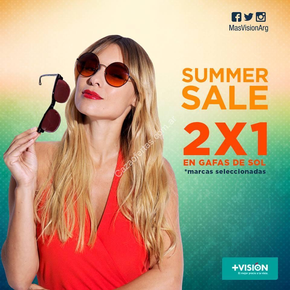 Promo Summer Sale de +Visión  2×1 en gafas de sol de marcas seleccionadas.  Enero 2016 81ebc5e392