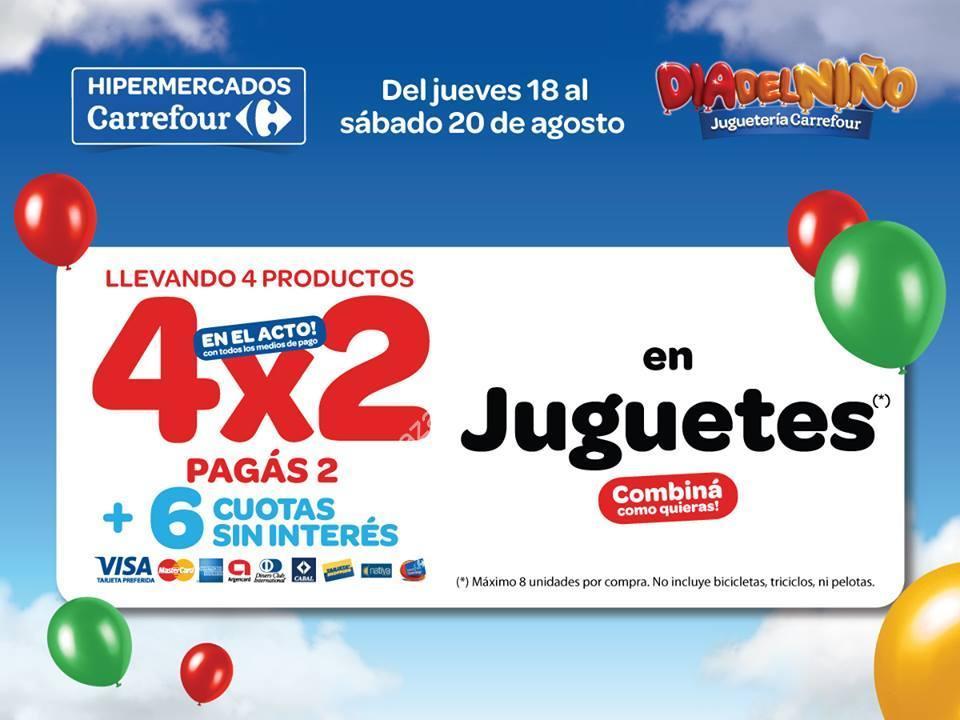 Ofertas de fin de semana en Carrefour: 4×2 en juguetes por el día ...