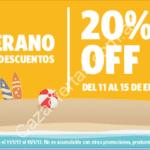 Descuentos de verano Sportline: 20% off del 11 al 15 de enero en sportline.com.ar