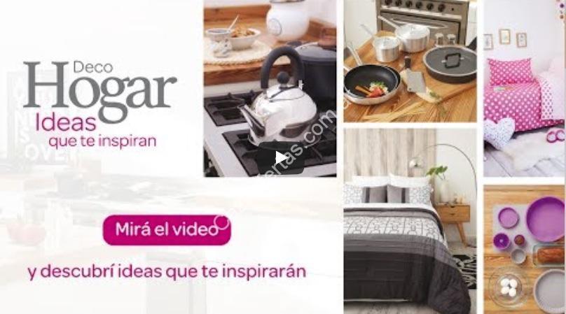 Promo Deco Hogar Carrefour: Participá del sorteo de 3 órdenes de