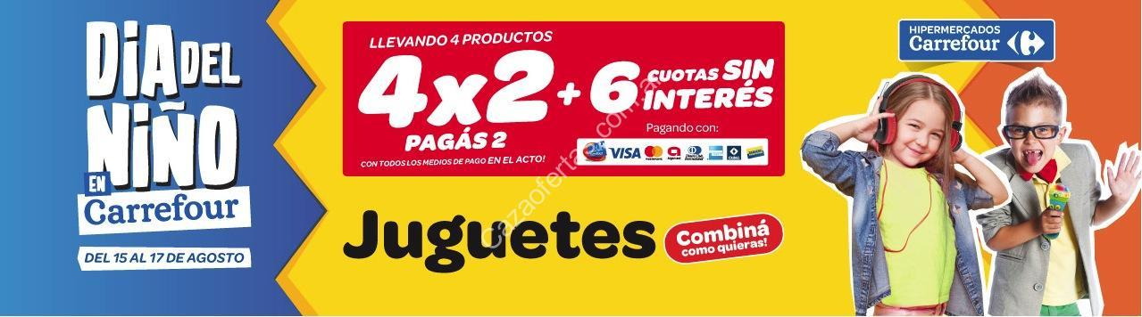 Carrefour Juguetes Ninos 1 Ano.Promocion Carrefour Dia Del Nino 4 2 En Juguetes Del 15 Al