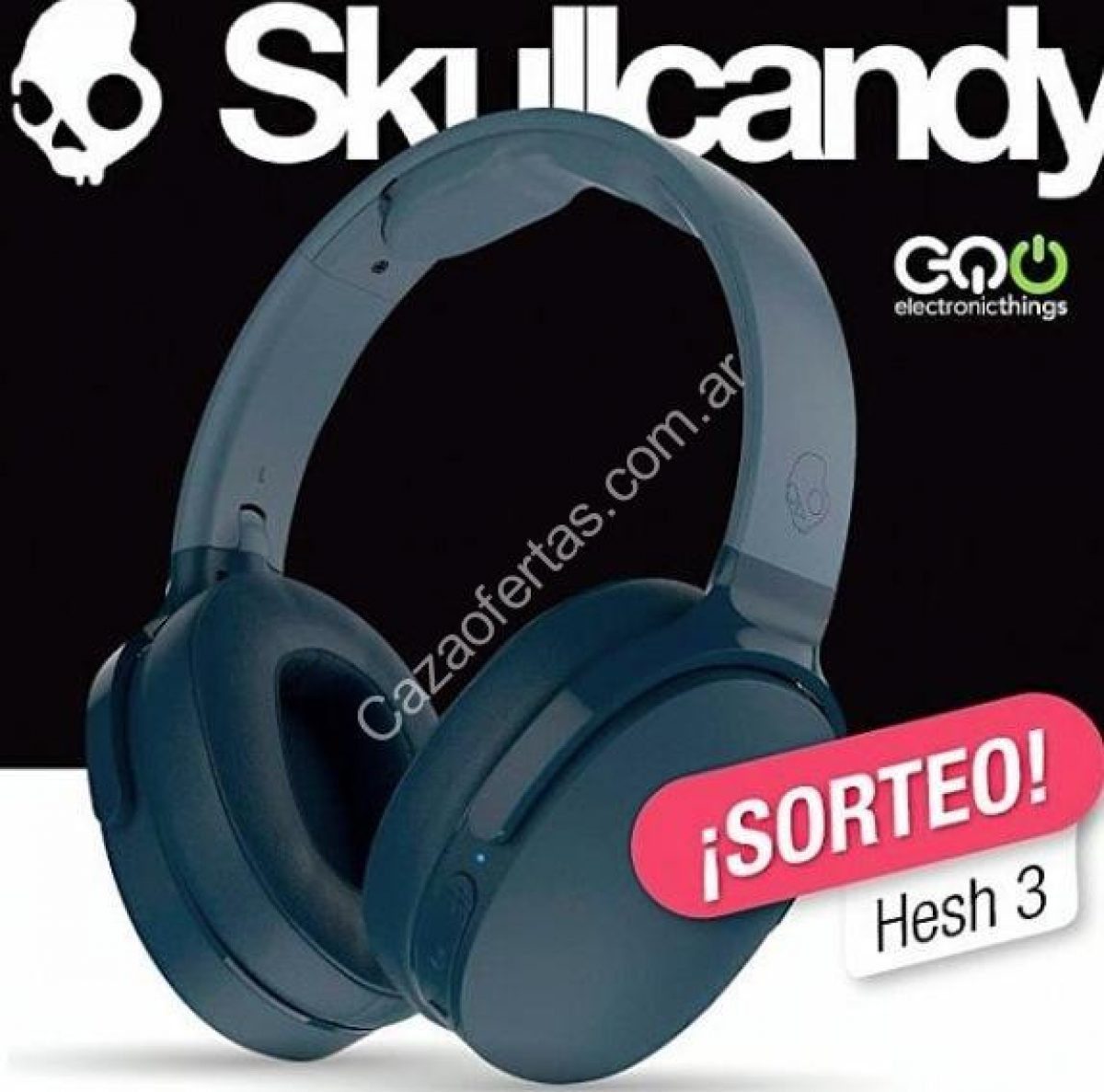 lanzador Alabama solicitud  Sorteo Electronic Things: Ganá un auricular Skullcandy Hesh 3 color azul