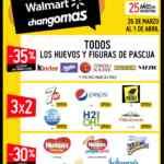 Ofertas fin de semana Walmart y Changomas del 26 de marzo al 1 de abril 2020
