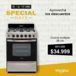 Special Days Whirlpool: Hasta 35% off en tiendas participantes