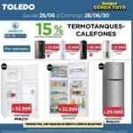 Ofertas Supermercados Toledo Fin de Semana del 25 al 28 de junio 2020