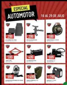 Folleto Changomas Especial Automotor del 16 al 29 de julio