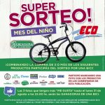 Sorteo Supermercados ECO Mes de Niño: Ganá 1 de 3 bicicletas cortesía de La Serenísima