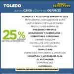 Ofertas Supermercados Toledo de finde del jueves 3 al domingo 6 de septiembre
