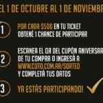 Super Sorteo COTO 50 Aniversario: Cargá tu cupón y ganá 1 de 1.500 changos en coto.com.ar/sorteo