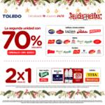 Ofertas Supermercados Toledo Felices Fiestas al 24 de diciembre