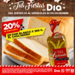Ofertas Supermercados DIA del 24 al 30 de diciembre