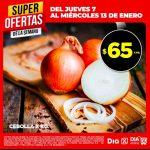 Ofertas Supermercados DIA en frutas, verduras y carnes del 7 al 13 de enero 2021