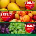 Ofertas Makro frutas y verduras del 7 al 10 de enero 2021