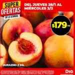 Ofertas DIA en frutas y verduras del jueves 28 al miércoles 3 de febrero 2021