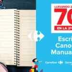 Promos Carrefour Vuelta al Cole: 70% de descuento en la segunda unidad y más