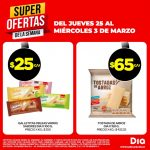 Super Ofertas de la Semana DIA del Jueves 25 al Miércoles 3 de marzo