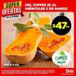 Ofertas de la semana DIA en frutas, verduras y carnes del 25 de febrero al 3 de marzo