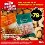 Ofertas Supermercados DIA en frutas y verduras del Jueves 25 al Miércoles 31 de marzo