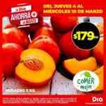Ofertas DIA Ahorrá+ en marzo en frutas, verduras y carnes del 4 al 10 de marzo
