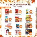 Folleto Supermercados Toledo Feria de Superprecios válido al 25 de mayo