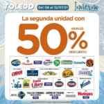 Folleto de ofertas Supermercados Toledo del 8 al 12 de julio 2021
