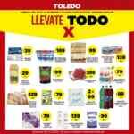 Folleto Supermercados Toledo Llevate Todo X del 28 de julio al 2 de agosto
