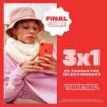 Final Sale Todomoda: Hasta 70% off ó 3x1 en productos seleccionados
