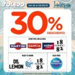 Ofertas Supermercados Toledo de Finde del 26 al 29 de agosto